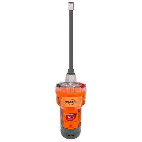 mcmurdo epirb with gps ais and homing beacon