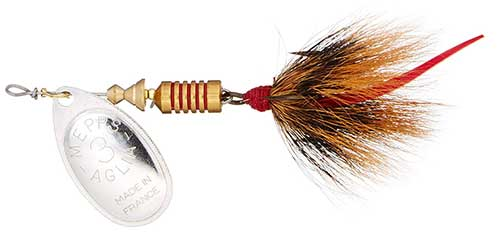 mepps spinner with tail bass lure