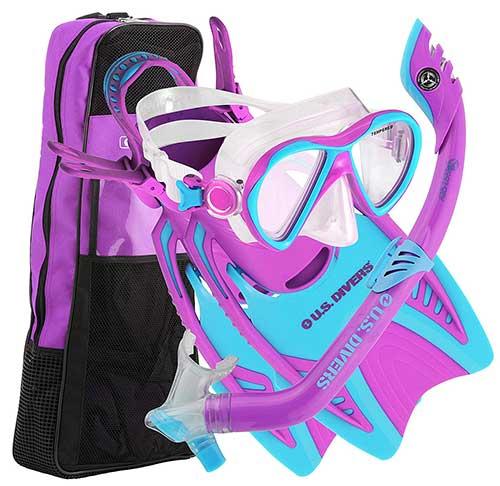 us-divers-youth-junior-kids-snorkeling-gear-set
