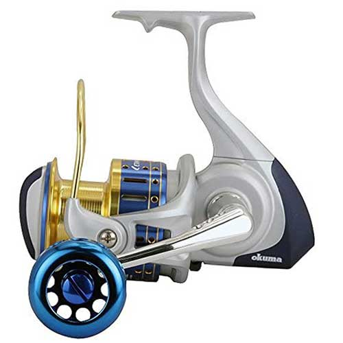 okuma cedros high speed saltwater spinning reel