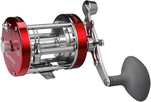kastking rover round conventional reel for catfish and salmon fishing