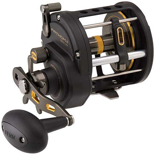 penn fathom II level wind conventional fishing reel
