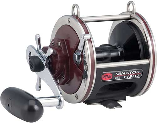 penn senator high speed star drag conventional fishing reel