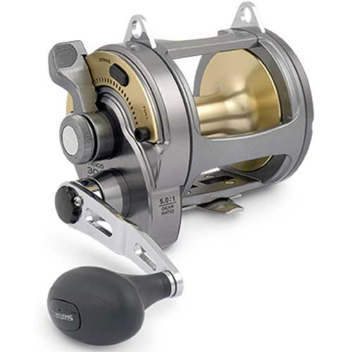 shimano tyrnos 2-speed conventional fishing reel