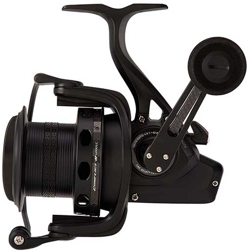 penn conflict long cast surf fishing spinning reel