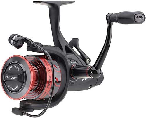 penn fierce live liner spinning reel for surf fishing