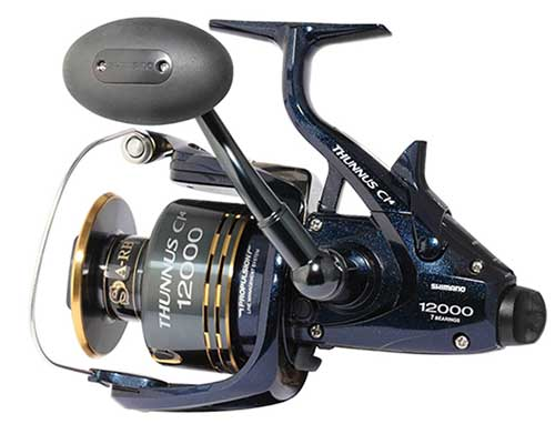 shimano thunnus surf fishing spinning reel