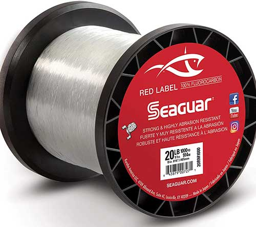 seaguar red label fluorocarbon fishing line