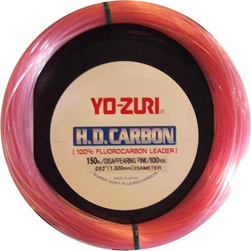 yo-zuri-hd-fluorocarbon-pink-leader