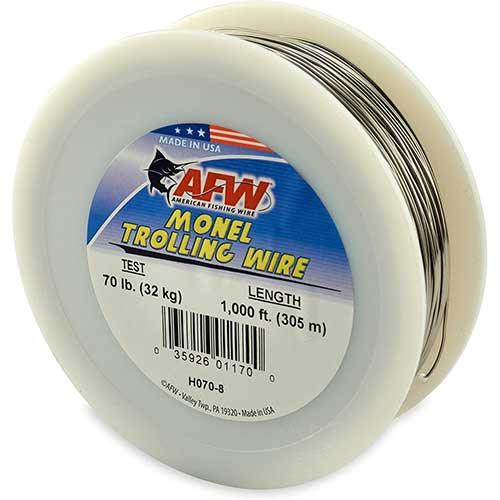 afw best monel trolling wire line