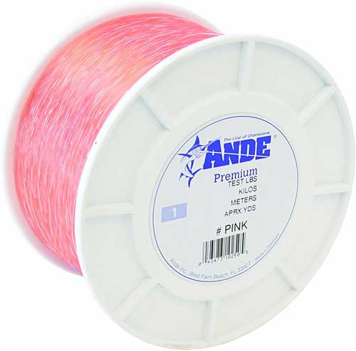 ande premium best pink fishing line