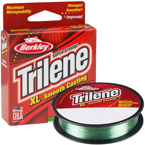 berkley xl trilene smooth casting monofilament fishing line