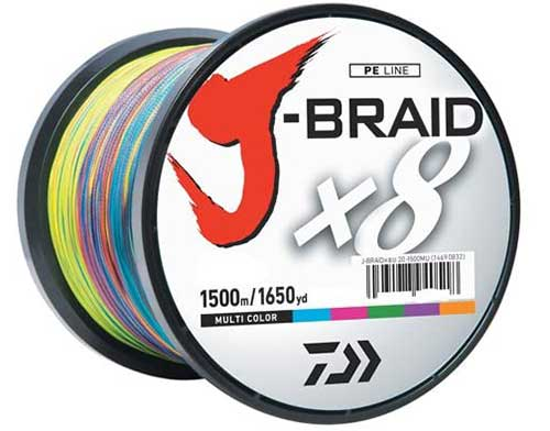 daiwa j-braid 8-strand braided fishing line