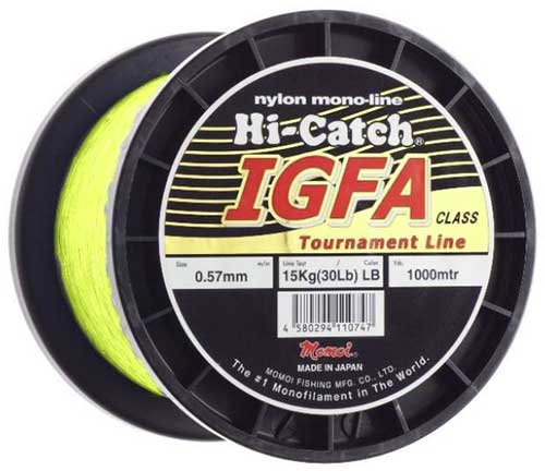 hi catch igfa nylon monofilament tournament fishing line