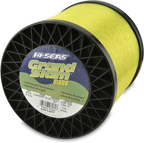 hi seas grand slam monofilament fishing line