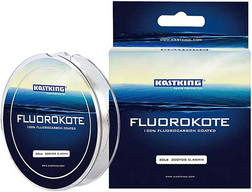 kastking fluorokote monofilament fishing line