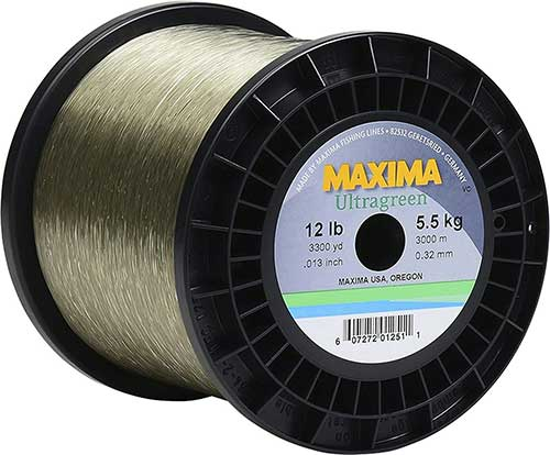 maxima ultragreen monofilament fishing line