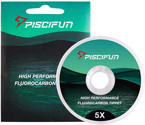 piscifun best fluorocarbon fly fishing tippet