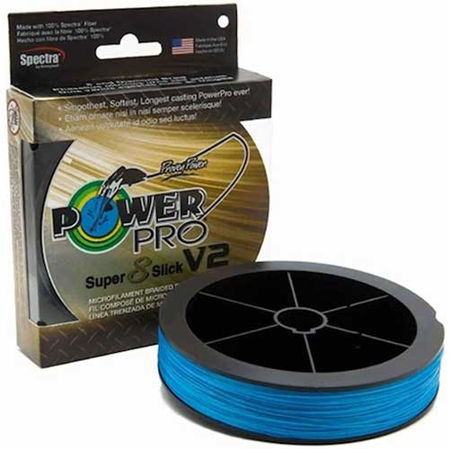 power pro ss v2 super slick braided line