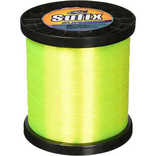 sufix superior best high visibility yellow fishing line
