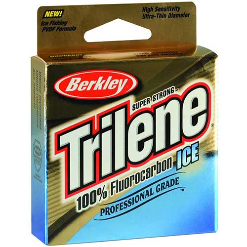 trilene fluorocarbon best ice fishing line