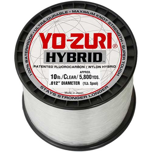 yo zuri hybrid clear monofilament fishing line
