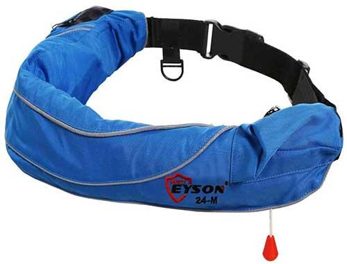 Eyson Inflatable Life Jacket Waist Belt