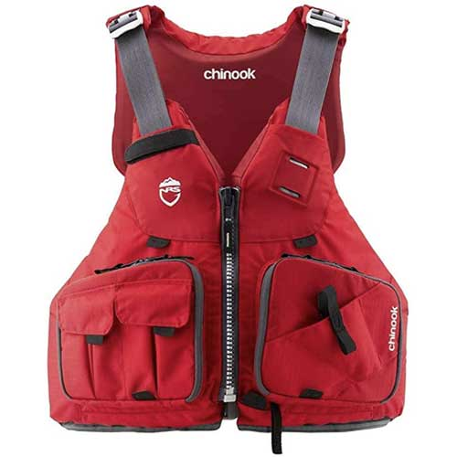 NRS Chinook Life Jacket with pockets