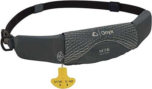 Onyx Unisex Inflatable Life Jacket Belt