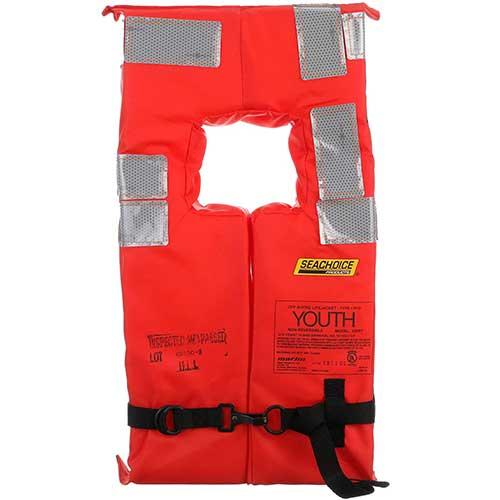 seachoice orange type-I life jacket