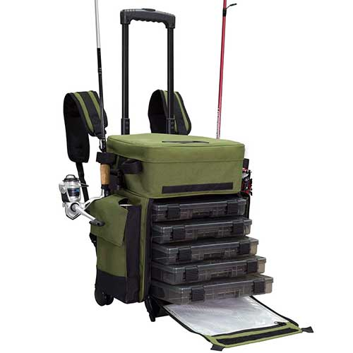 Elkton Tackle Backpack with Roller Wheels