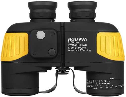 Hooway Waterproof and Floating Marine Binoculars