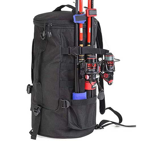 Nuxn Large Capacity Fishing Backpack