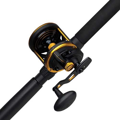Penn Squall Lever Drag Trolling Combo