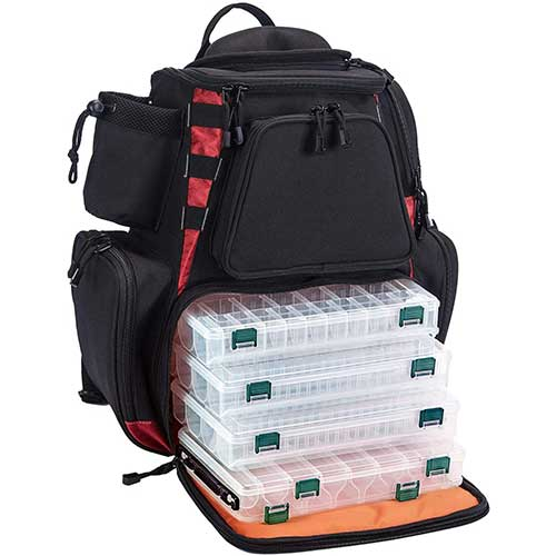 Piscifun Fishing Backpack with Tackle Boxes