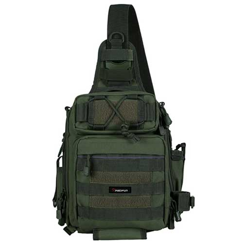 Piscifun Fishing Tackle Box Sling Backpack