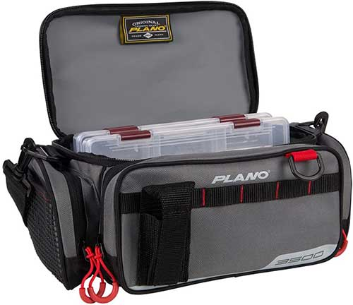 Plano Bag with Clear Tackle Boxes