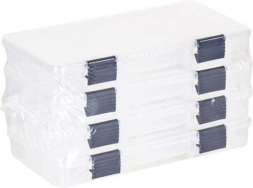 Plano Clear Stowable Tackle Boxes