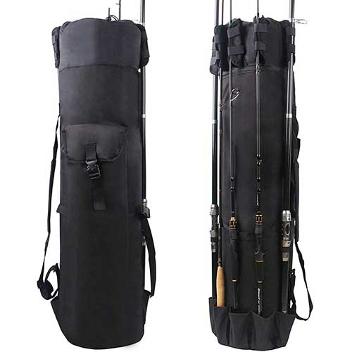 Shaddock Rod and Reel Fishing Backpack