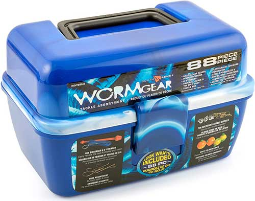 SouthBend Wormgear Kids Tackle Box