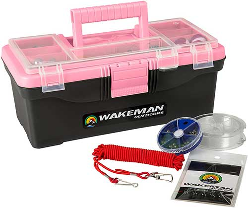 Wakeman Single Tray Tackle Box
