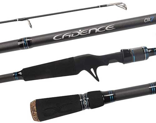 Cadence CR7B Baitcasting Fishing Rod