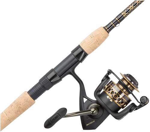 Penn Battle III Saltwater Fishing Rod and Reel Combo