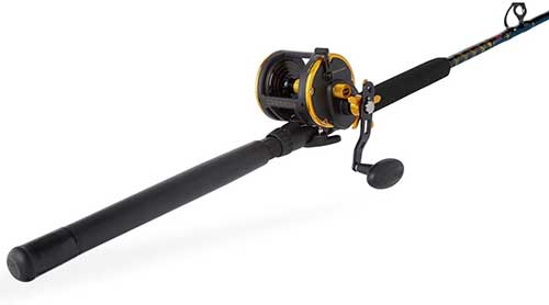 Penn Squall Saltwater Fishing Rod Combo
