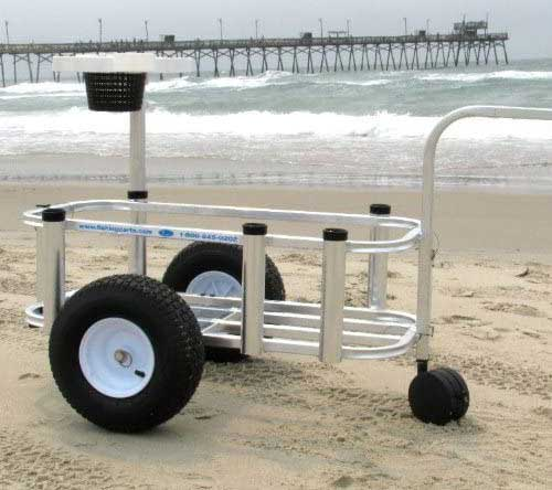 Reels on Wheels Jr Fishing Cart