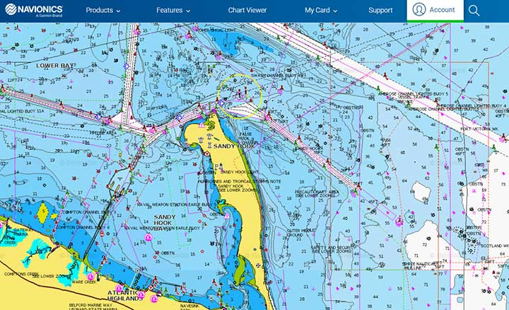 navionics for bad weather conditions