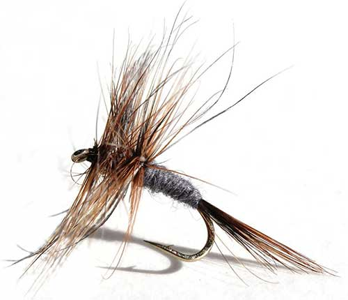 adams dry fly fishing flies